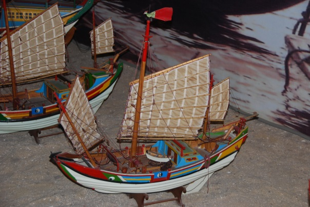 One of some 15,000 artifacts in the  Chinese Oversea Museum.  (Photo by Robyn Bushong.)