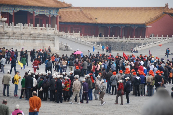 60,000- 80,000 people a day! visit The Forbidden City. ( Photo by Robyn Bushong.)