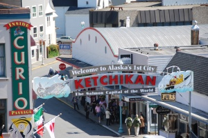 Ketchikan.... Our first port of call.