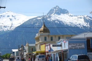 Skagway - our last port of call on this wonderful cruise.
