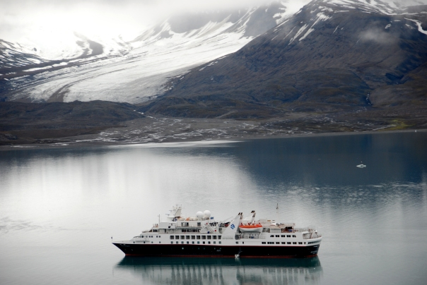 Silversea Cruises' Silver Explorer - Svalbard, Norway (photo by Robyn Bushong.)